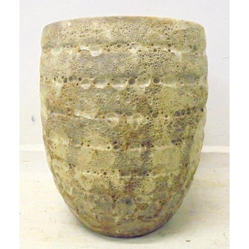8A - Rustic Glazed Pottery Planter (BWL)...