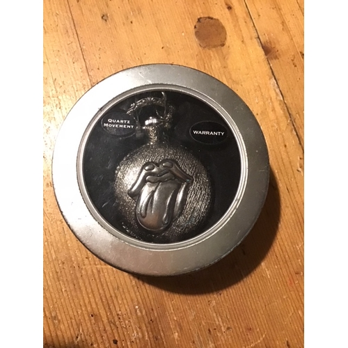 1 - Rolling Stones Tour only Pocket watch from 2006, Original box, excellent condition, battery not incl...