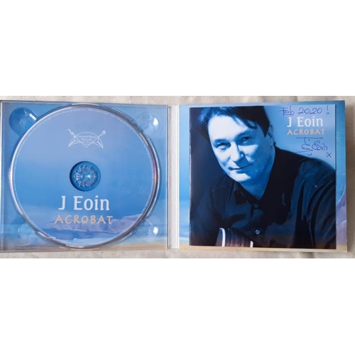 "4 - ""Acrobat"" Signed CD J EOIN. J Eoin is a wonderful Irish singer/ songwriter/ musician popular worldwi..."