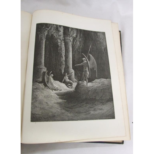792 - Book: Milton's Paradise Lost illustrated by Gustave Dore, edited with notes of the life of Milton by...
