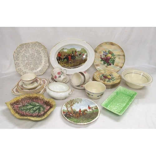 1013 - Cups & Saucers, decorative plates, dishes etc....