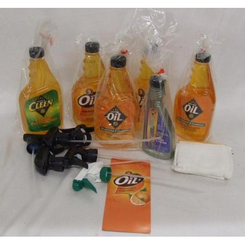 890 - 4 710ml Bottles Golden Oil Wood Polish & Conditioner made from pure orange oil, Golden Oil Multi Pur...