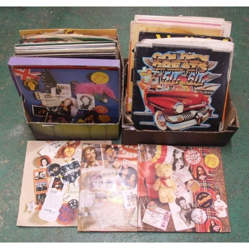 1130 - Records incl. boxed sets, Hits of WWII, Golden Hit Parade, All Star Jazz Festival, John Denver, Pain...