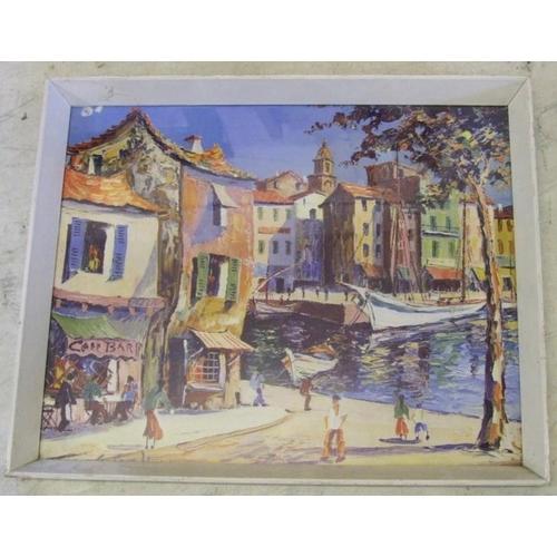 392 - George Hann Print 'St Tropez' (A11)...