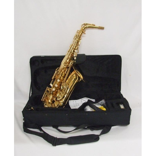 796 - Lindo Alto Saxophone in fitted case...