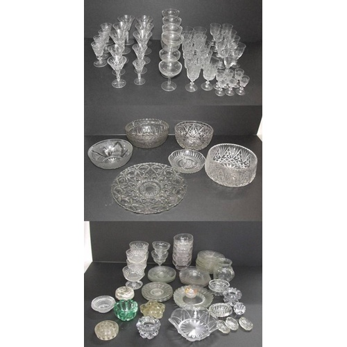 841 - Glass Bowls & Serving Dishes, champagne glasses, cocktail glasses, tumblers, liqueur glasses, sherry...