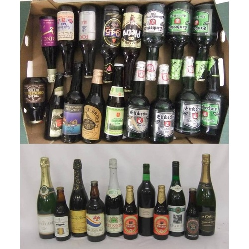 896 - Collectable Beers incl. Einbecker, Pietra, 1945 William Bass Strong Ale, Poperings, Fox Ale, Pheasan...