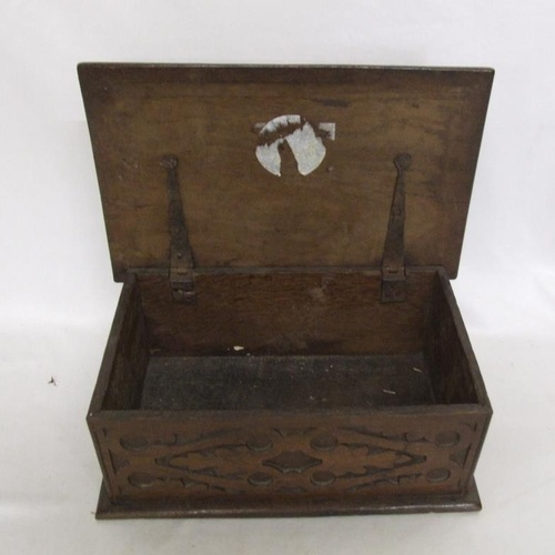 643 - Carved Wooden Box...