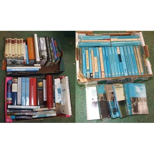 1122 - Books: Journey Into China, Dictionary of World History, Scientific Biography, David Attenborough Lif...