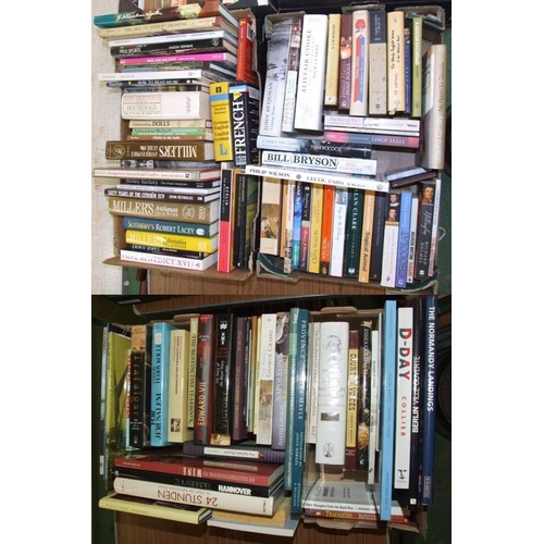 1102 - Books: The Normandy Landings, Berlin, D-Day, Country Voices, The Rise & Fall of Napoleon, Provence, ...