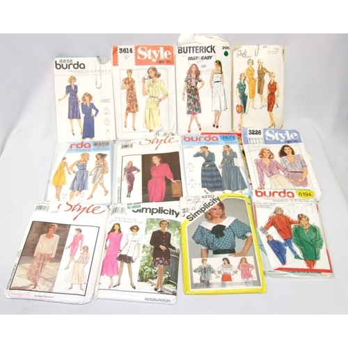 789 - Vintage Sewing Patterns incl. Style, Burda, Butterick, Simplicity, McCalls etc....