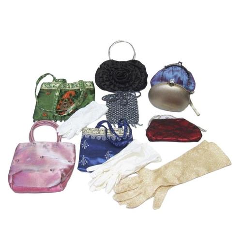 1139 - Evening & Other Bags incl. No. 7, Christina Aguilera, Tu Chuzy, Giorgio etc. & 3 Pairs Evening Glove...