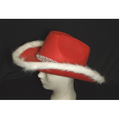 1084 - 10 Ladies Vintage & Other Hats incl. Kangol, Principles, 2 faux fur & 1 real fur, Ruby leather handb...