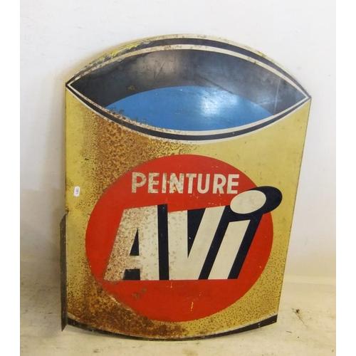 260 - Enamelled Metal Sign 'Peinture Avi' (B A4/5)...