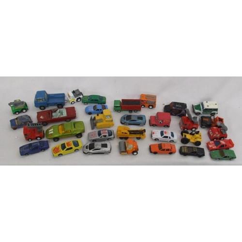 819 - Play Worn Model Vehicles incl. Matchbox, Corgi, Lledo, Corgi Comics Lunar Bug, Matchbox Superkings f...