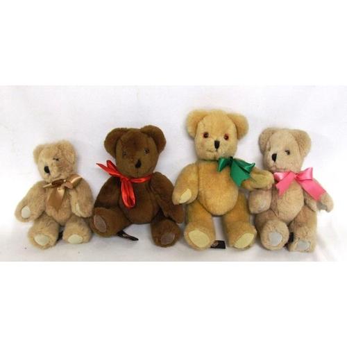 810 - 4 Canterbury Bears: 1987 x 2, 1989, 1990 (4)...