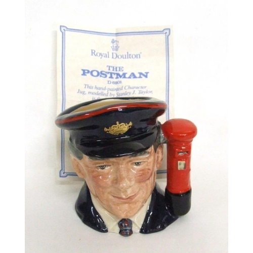 602 - Royal Doulton Limited Edition 'Journey Through Britain' Character Jug D6801 'The Postman' No. 4282 w...