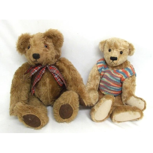 801 - Grundy Bears Mohair Teddy 'Buster' with wool felt pads & glass eyes, approx. 15