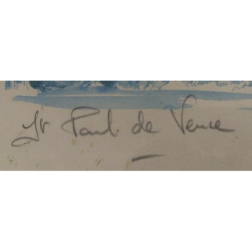 421 - F/g Limited Edition Print No. 82 of 100, signed Paul de Veure (FW)...