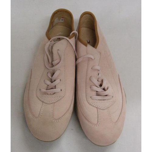 1148 - Pair Ladies Tommy Hilfiger Pink Suede Trainers, size 8...