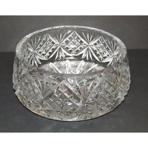 578A - Heavy Cut Crystal Bowl...