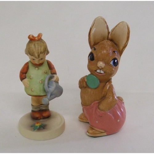 611A - Goebel Figurine 'Little Gardener' & Pendelfin Figurine 'Robert' (2)...
