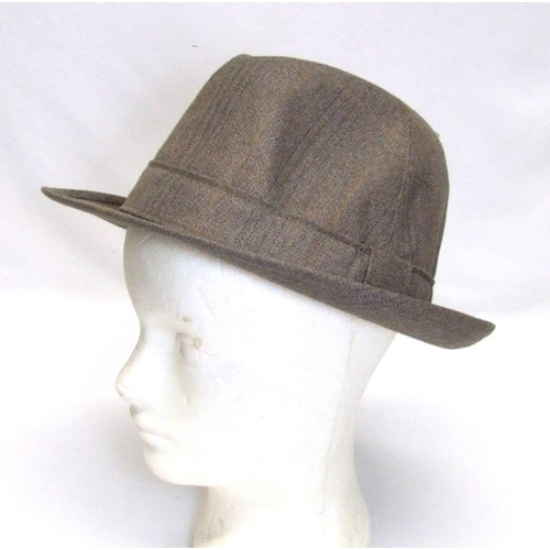 1197 - M&S Sun Protection Hat Factor 40, As New Dunn & Co. Trilby, Fancy Dress 'Captain' Hat & Moss Bros. L...