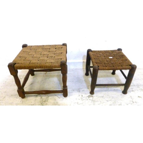 15 - 2 String Seated Stools (2) (A1)...