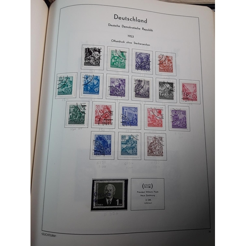 15 - 2 Albums of various German stamps...