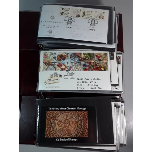 16 - 3 Albums of various first day covers...