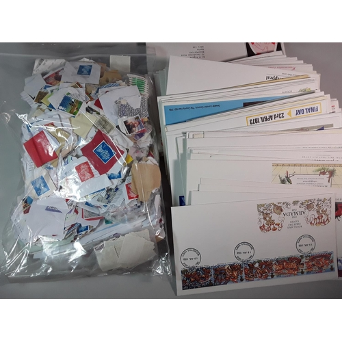24 - Large box of various first day covers & stamps...
