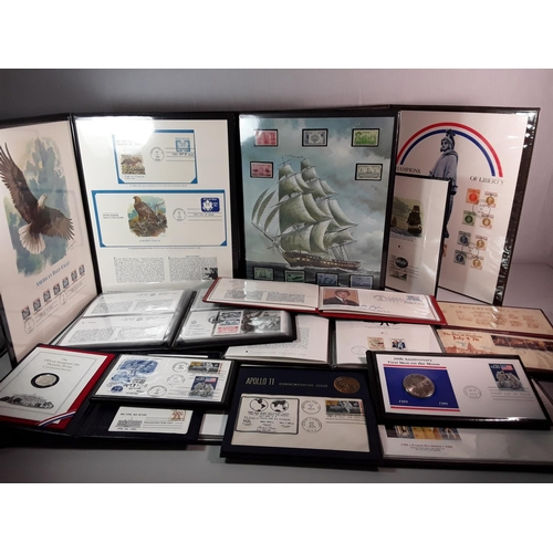 25 - Qty of first day covers & stamps...