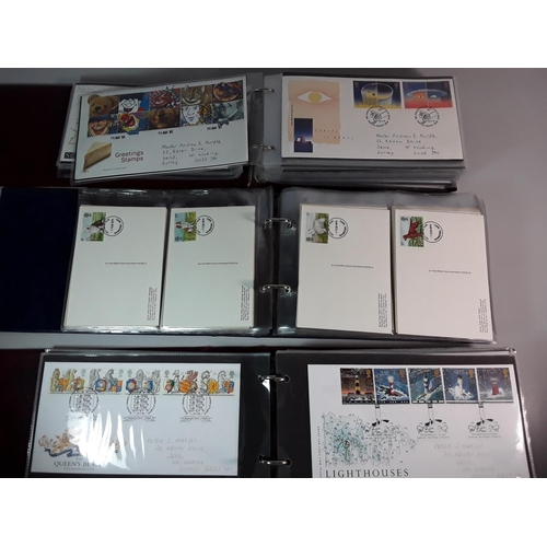 26 - 3 Albums of first day covers...