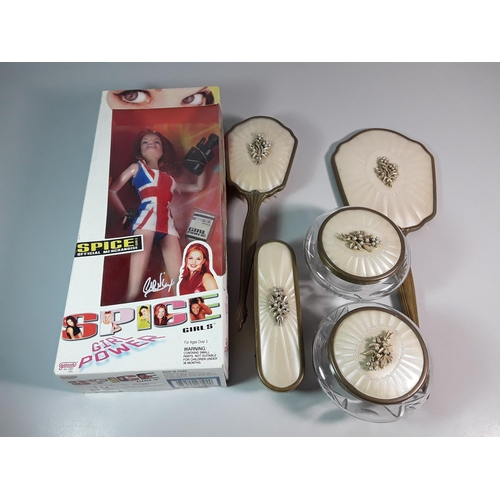 7 - Spice girls doll & dressing table set...