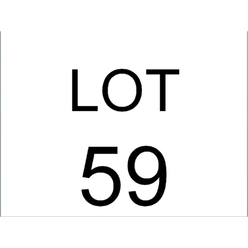 59 - MAHOGANY 2 TIER TABLE...