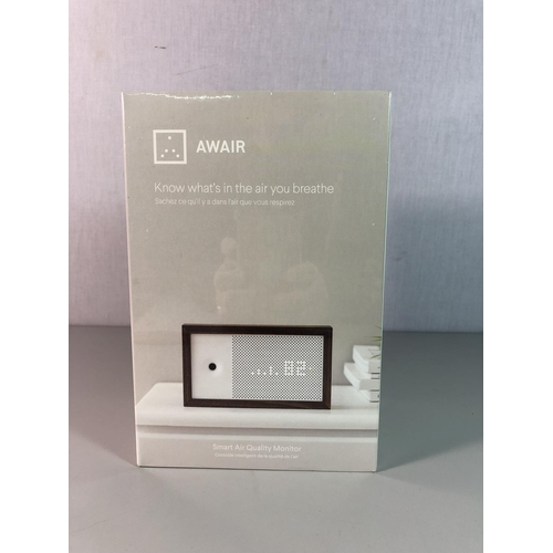 2 - New and boxed smart air quality monitor...