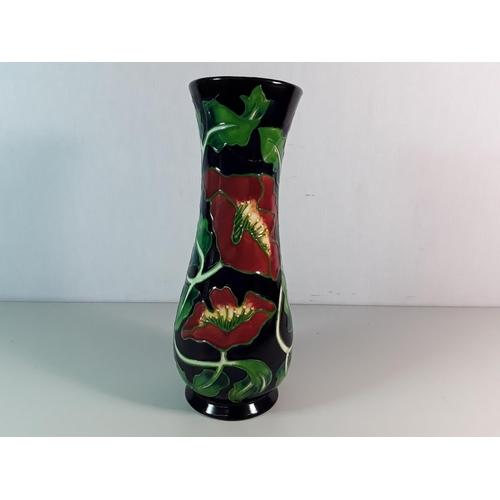 30 - Moorcroft vase...