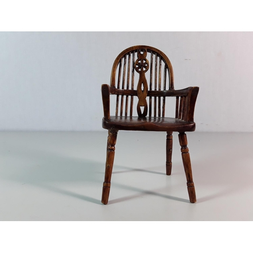 31 - Miniature carver chair...