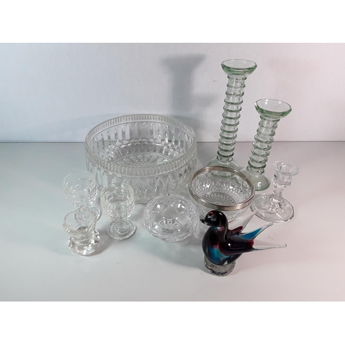 45 - Collection of various glass ware...