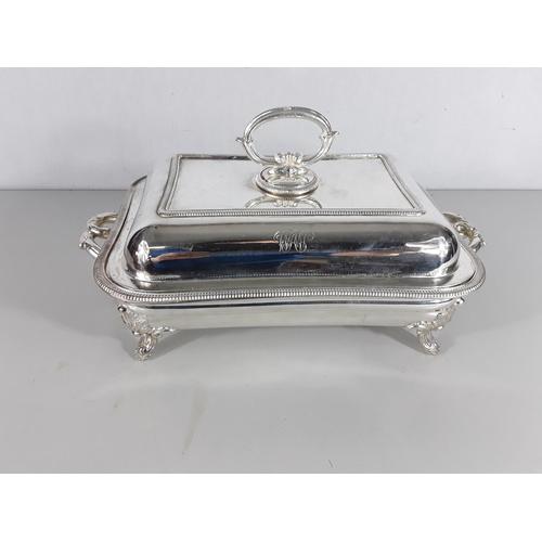 29 - Silver plated Tureen...