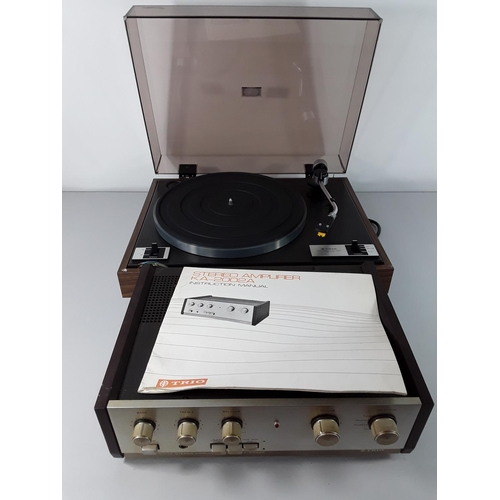 50 - 2 Vintage Trio audio items...