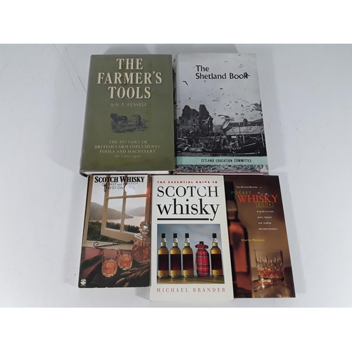 22 - Selection of books inc: Whisky...