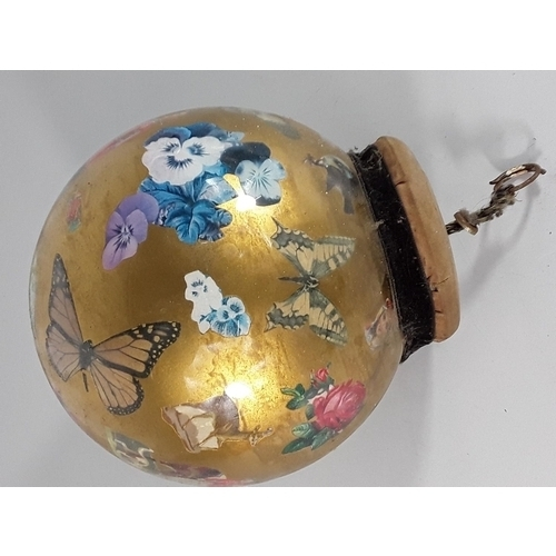16 - Antique witches ball...