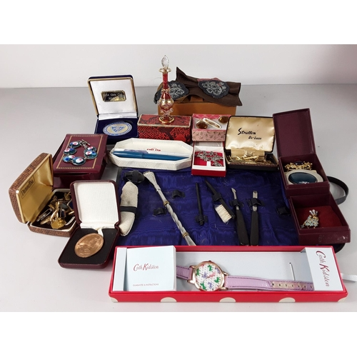 45 - Box of various jewellery and interesting items...