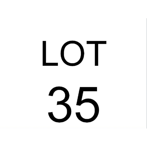 35 - A LOW PINE WARDROBE...