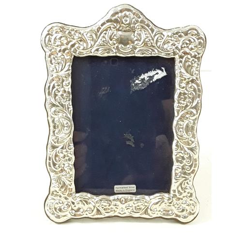 22 - Silver photo frame...