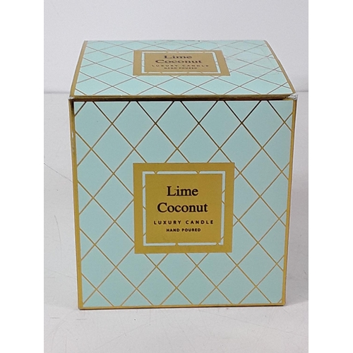 31 - Lime and coconut candle...