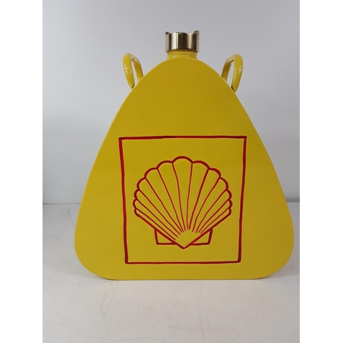 40 - Shell oil can...