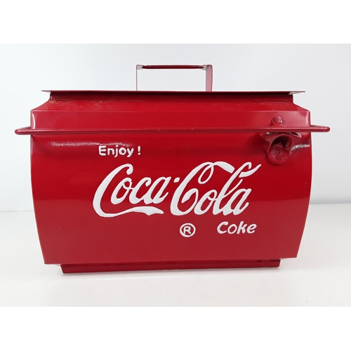 43 - Coke Cola cooler...