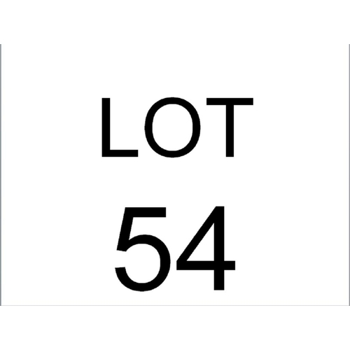 54 - SET OF 4 GARDEN CHAIRS